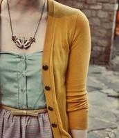 Sueter amarillo