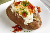 Class of 2018 Fundraiser: Baked Potato Lunch Oct. 23