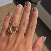 Arabesque Cocktail Ring  , Citron, was $34, now $15!!!