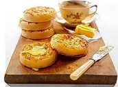 My shop Sells the best crumpets in England!