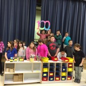 Student Council on the 100th day