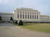 League of Nations building