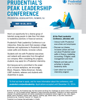 Prudential Peak Leadership Conference