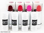 Em lipsticks