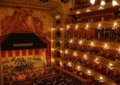 Old World Opera Performance at Teatro Colon