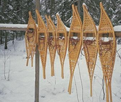Ojibwe snow shoes