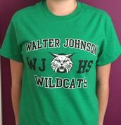 Green T-shirt - $15