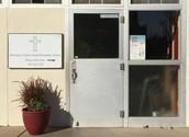 Cafeteria/School Entrance