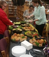 Our Parents Spoiled Us with Delicious Lunch!