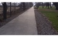You can go on the bike trail.