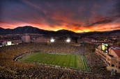 Colorado football field