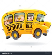 Students riding on a different bus...