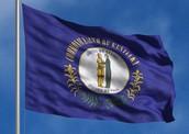 Kentuckys state flag