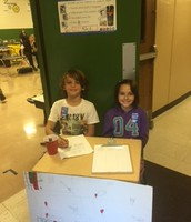 4th grade Blood Drive
