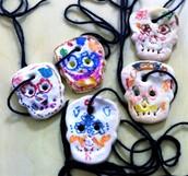 Spanish: Our Annual Día de los Muertos Necklaces!