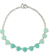 Somervell necklace, aqua