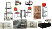 Many Baker Racks, Metal Frame Beds and more....