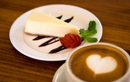 enjoy lattes and other food