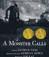 A Monster Calls by Patrick Ness,  illustrated by Jim Kay