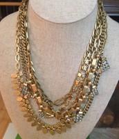 Sutton necklace gold