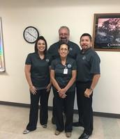Sra. Forsyth, Sra. Almanza, Sr. Cavazos, Sr. Velez