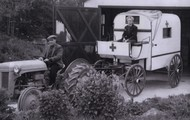 This is another old ambulance.