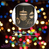 Joy to the World wrap.
