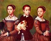 His three children