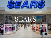 An entrance to sears