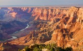 Formed by the Colorado River