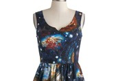 3. Heart and Solar System Dress