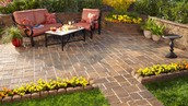 Patio Pavers make a great outdoor living area