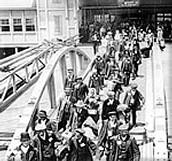 Inmigrantes Italianos circa. 1920
