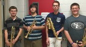Four Band Members Recognized