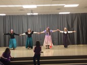 Staff performs at NA PTA Talent Show