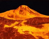 Venus's surface