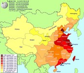 Population Map of China