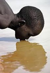 Why do the people of South Sudan need a water purification system? What is the biggest issue related to water facing the population?