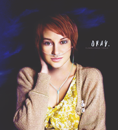 Shailene Diann Woodley as hazel grace