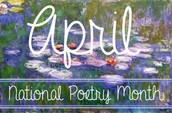 Celebrate Poetry in April