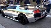 Chromium-plated cars