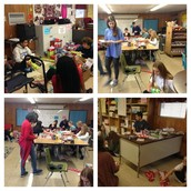 Thanks Anderson H.S. PALS for helping wrap hundreds of Toys For Tots gifts for our Panthers!