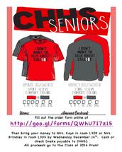 Senior 2016 shirts