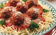 I LOVE pasta, especially with meatballs!