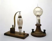 Invented by Thomas Edison