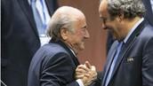 Sepp Blatter y Michel Platini