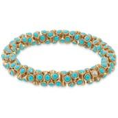 Vintge Twist Bracelet, Turquoise