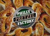 #9 . Coman un pretzel filadelfia