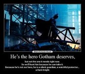 Quote from Batman.