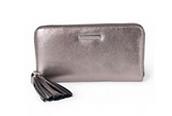 50% off - Mercer Wallet Pewter Metallic
